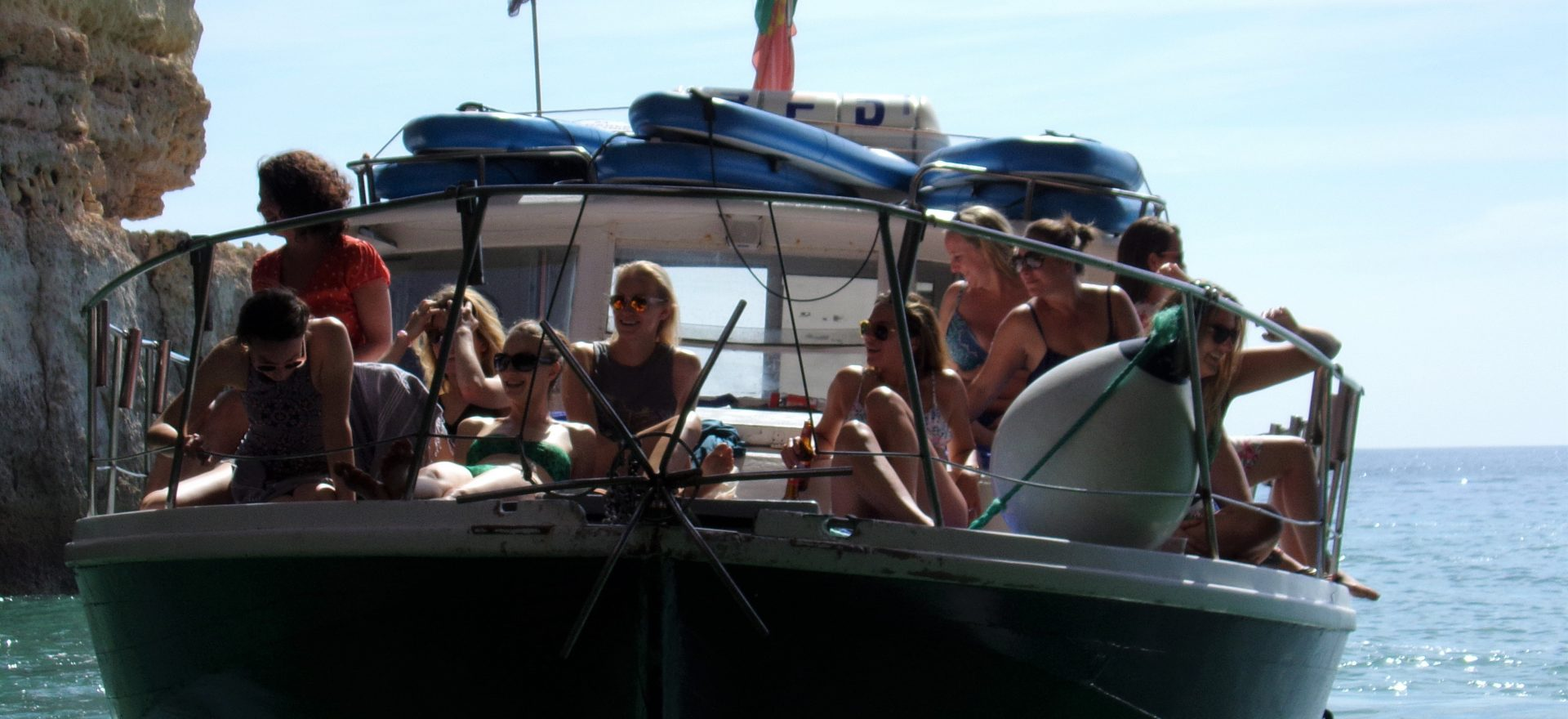 albufeira boat trips standup paddle