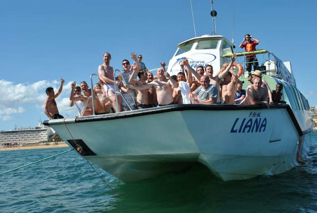 Albufeira Stag do Booze boat trips