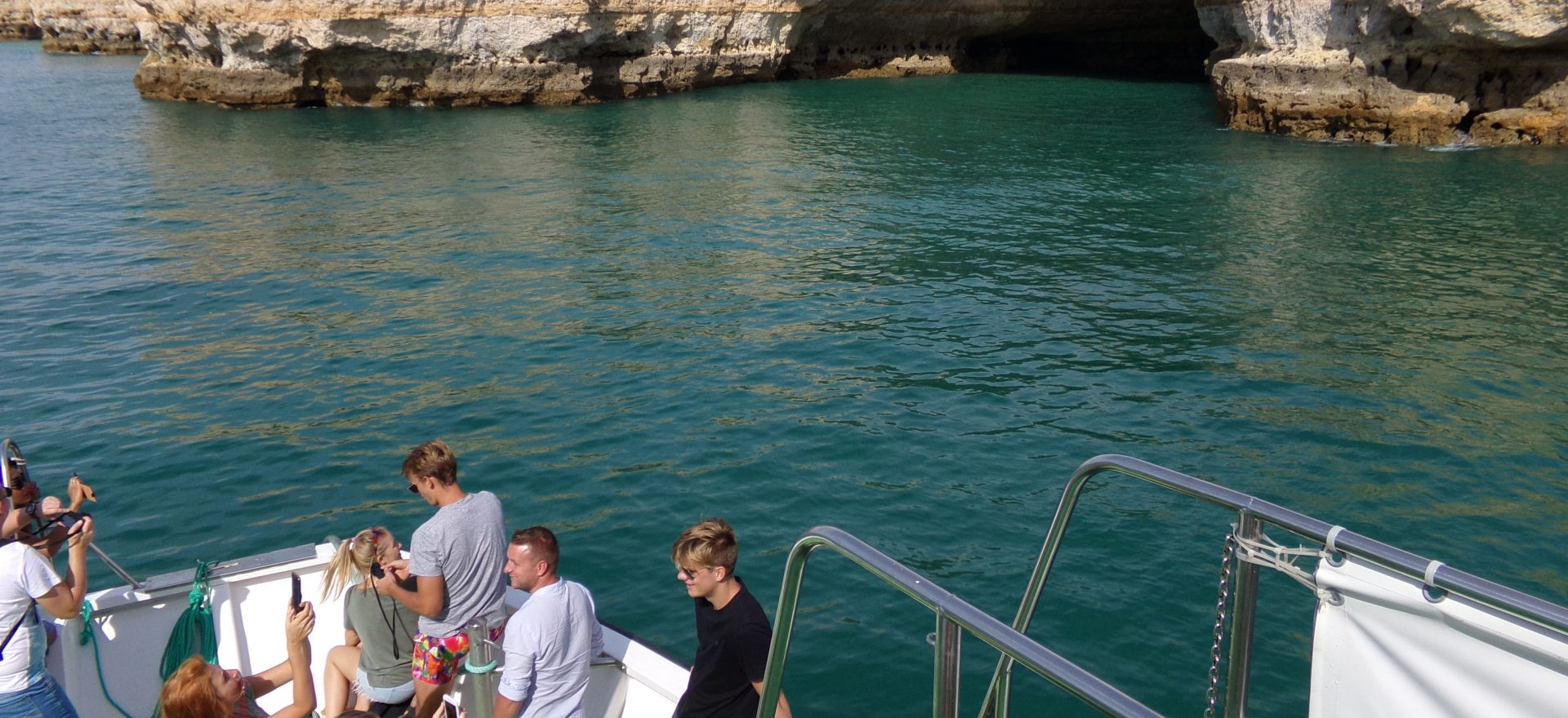 algarve boat tours