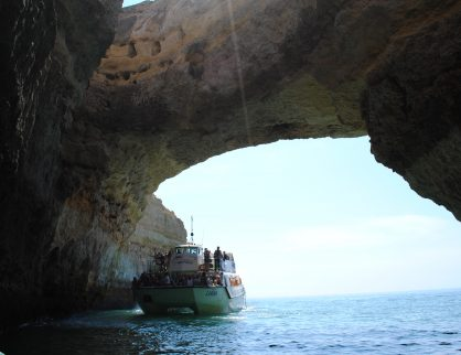 Some of the biggest sea caves in Europe