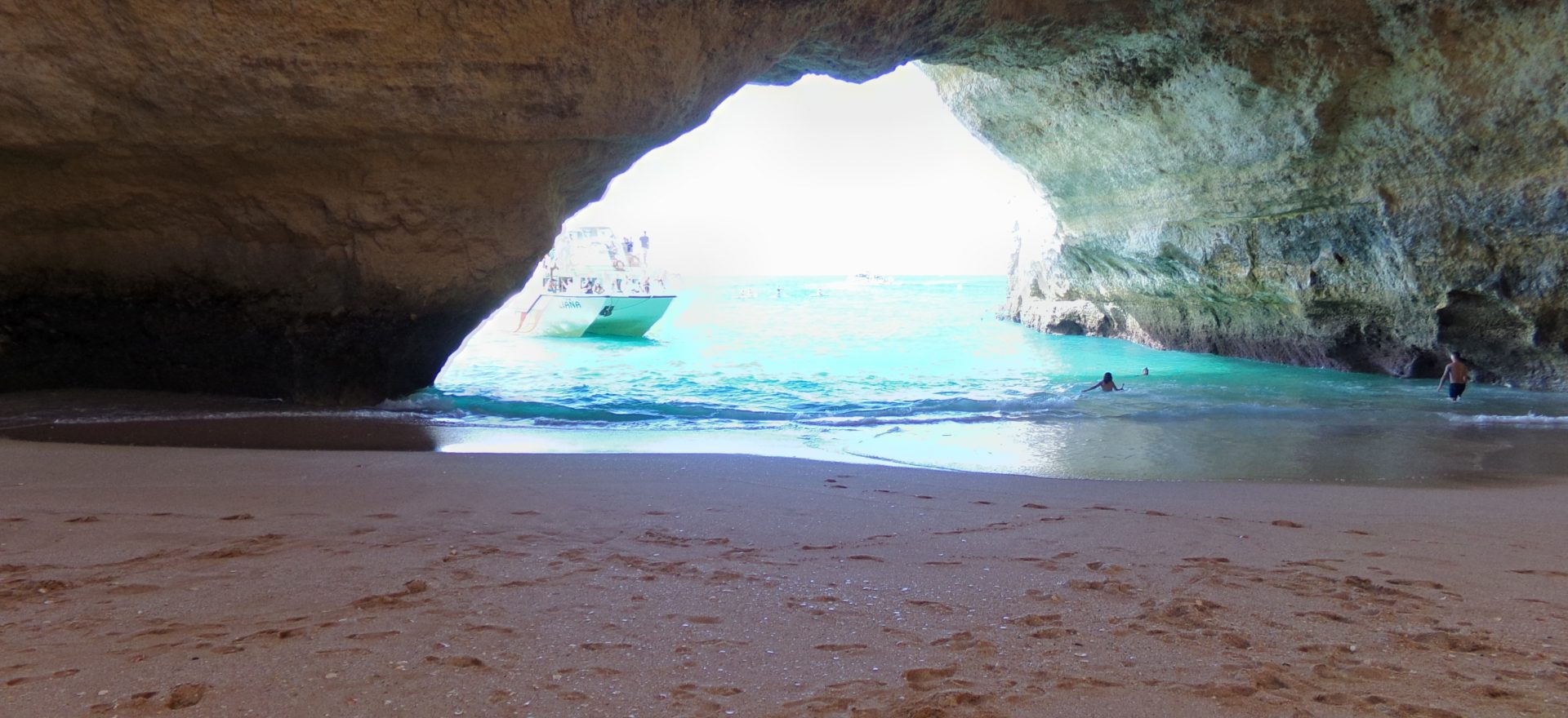 cruise to benagil cave algarve