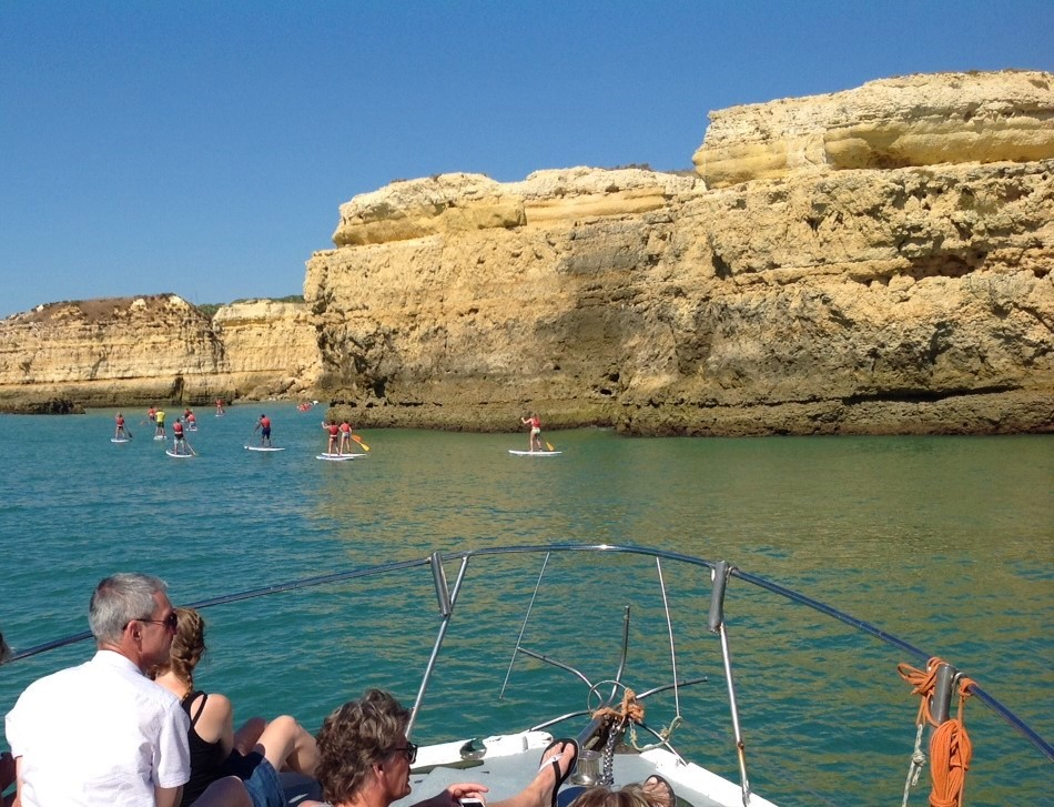 standup paddle caves algarve